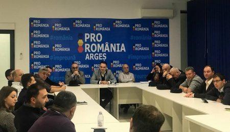 PRO ROMÂNIA ARGEȘ, PRIMA ȘEDINȚĂ OFICIALĂ. IATĂ ECHIPA!