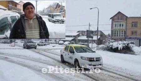 """(VIDEO) PITEȘTIUL, SUB NĂMEȚI. """"PRIMARUL A UITAT CĂ VINE IARNA!"""""""