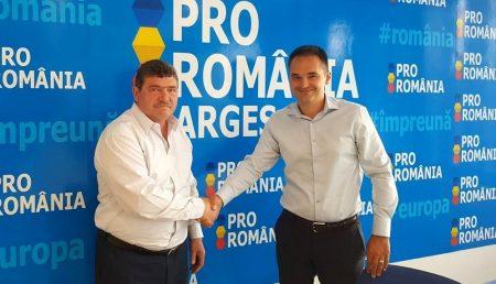 COLONELUL ION PANAIT, LA PRO ROMÂNIA ARGEȘ
