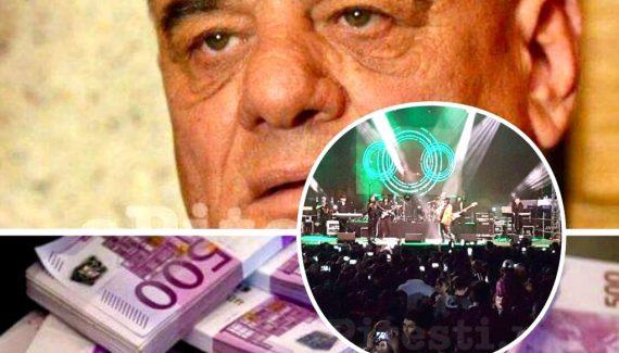 133.000 DE EURO, NOTA DE PLATĂ PENTRU CONCERTE!