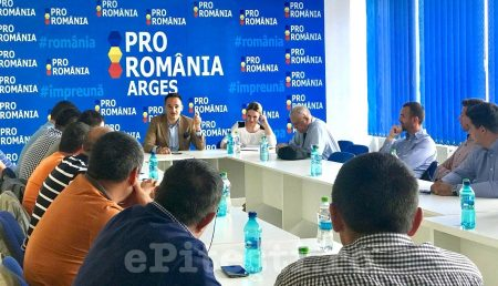 """PRO ROMÂNIA ARGEŞ, O NOUĂ ŞEDINŢĂ. BOGDAN IVAN: """"VOM IEŞI ÎN STRADĂ"""""""