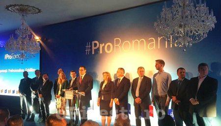 PRO ROMÂNIA ȘI-A LANSAT AGENDA POLITICĂ