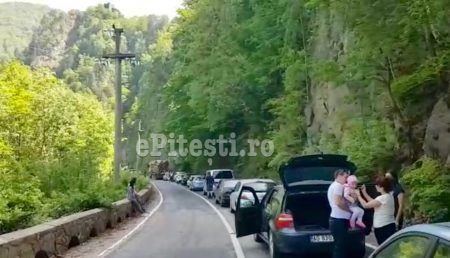 UPDATE: ACCIDENT PE TRANSFĂGĂRĂȘAN