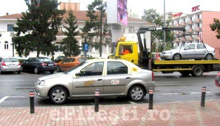 Regulament pentru ridicarea mașinilor staționate necorespunzător în Pitești