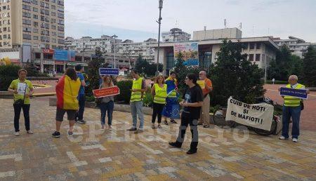 """(VIDEO) ACUM: PROTEST ÎN PIAȚA """"MILEA"""""""