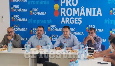 PRO ROMÂNIA, ÎNTÂLNIRE REGIONALĂ ÎN ARGEŞ