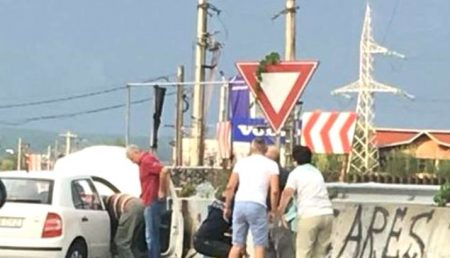 UPDATE: ACCIDENT ÎN BASCOV. FEMEIE RĂNITĂ