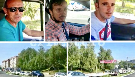 "(VIDEO EXCLUSIV) ȘOFERI REVOLTAȚI PE CALEA CRAIOVEI: ""E INADMISIBIL!"""