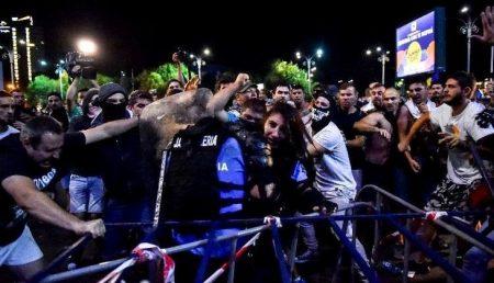 BĂRBATUL CARE AR FI FURAT ARMA FEMEII JANDARM, REȚINUT