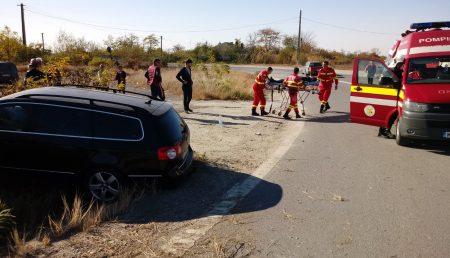 UPDATE: ACCIDENT CU VICTIMĂ