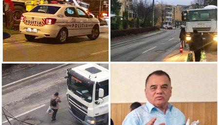 HAOS ÎN GĂVANA. STRADĂ BLOCATĂ, PIETONI PE CAROSABIL, AUTORIZAȚII LIPSĂ (VIDEO)