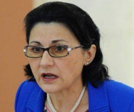 ECATERINA ANDRONESCU, IERTATĂ ȘI PROPUSĂ LA MINISTERUL EDUCAȚIEI