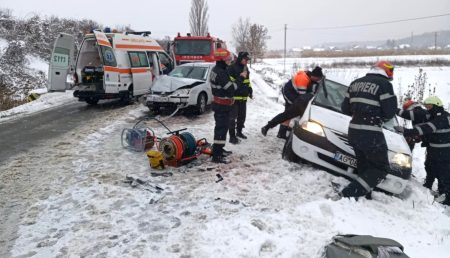 UPDATE: IMPACT PE CONTRASENS. ACCIDENT ÎN ARGEȘ