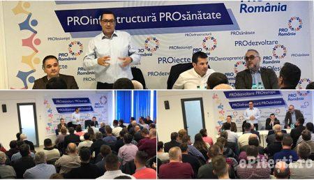 VICTOR PONTA ȘI DANIEL CONSTANTIN, ȘEDINȚĂ LA PRO ROMÂNIA ARGEȘ