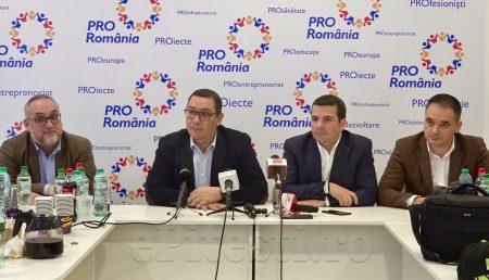 """(VIDEO) VICTOR PONTA ÎN PITEȘTI: """"PROGRAMUL DRAGNEA – VÂLCOV E DE TIP CARITAS. TOTUL SE VA PRĂBUȘI!"""""""