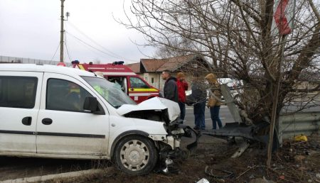 UPDATE: ACCIDENT, BĂRBAT RĂNIT