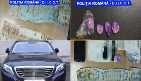 (VIDEO) ALEXANDRU MIHĂILESCU, REȚINUT. COCAINĂ, MII DE EURO ȘI UN BOLID DE LUX, CONFISCATE