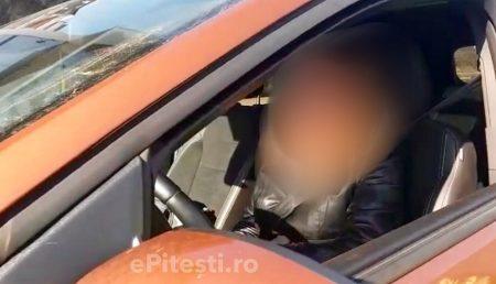 ȘOFERIȚĂ DUR SANCȚIONATĂ ÎN ARGEȘ