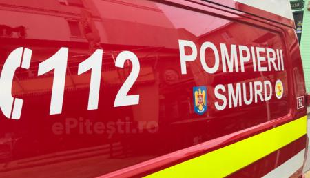 UPDATE: POMPIERI ȘI SMURD, URGENȚĂ PE AUTOSTRADĂ