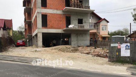 LOVITURĂ DE TEATRU ÎN CAZUL UNUI BLOC ÎN CONSTRUCȚIE DIN GĂVANA