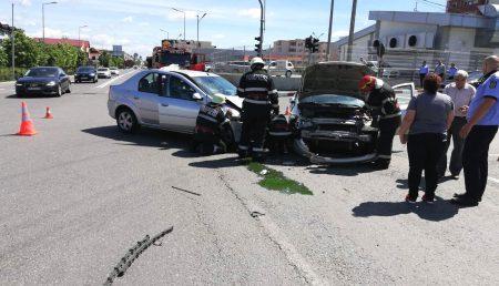 UPDATE: ACCIDENT CU VICTIMĂ ÎN ZONA LIDL MIOVENI