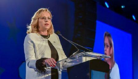 """CORINA CREȚU: """"A FI ÎMPOTRIVA UNIUNII EUROPENE ÎNSEAMNĂ A FI ÎMPOTRIVA ROMÂNIEI!"""""""