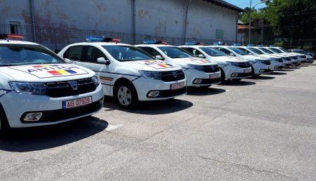 AUTOSPECIALE NOI PENTRU POLIȚIA ARGEȘEANĂ