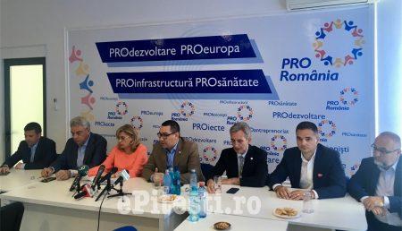 (VIDEO) VICTOR PONTA ÎN PITEȘTI: CANDIDAȚII PRO ROMÂNIA SUNT RESPECTAȚI PE PLAN EUROPEAN