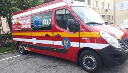 O NOUĂ AMBULANȚĂ SMURD PENTRU ARGEȘENI