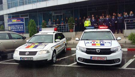 MOMENT DE RECULEGERE LA POLIȚIA ARGEȘEANĂ