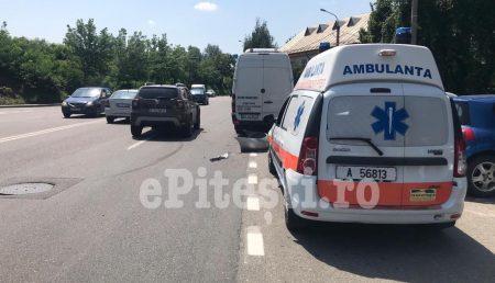 (VIDEO) UPDATE: ACCIDENT CU AMBULANȚĂ PE GHEORGHE ȘINCAI, FEMEIE RĂNITĂ