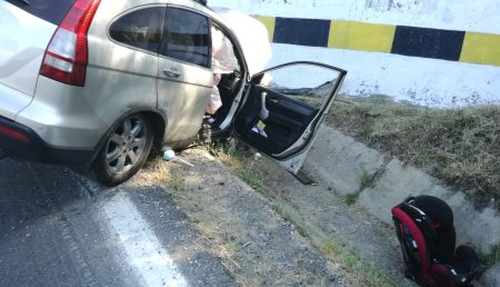 UPDATE: ACCIDENT RUTIER GRAV, IMPACT VIOLENT