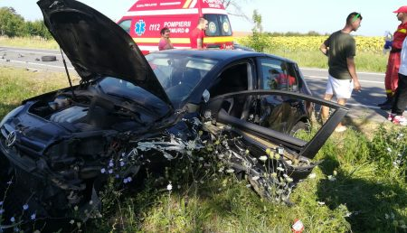 UPDATE: ACCIDENT ÎN LUNCA CORBULUI