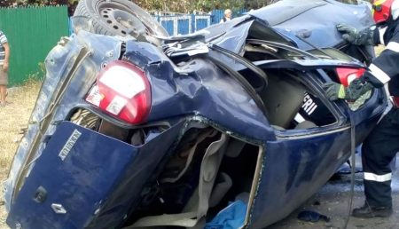 (VIDEO) UPDATE: ACCIDENT GRAV, CU VICTIME