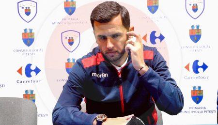NICOLAE DICĂ, DEMIS DE LA FC ARGEȘ