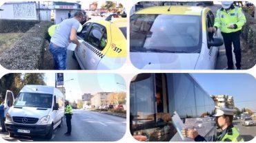 (VIDEO) POLIȚIA LOCALĂ A DAT IAMA ÎN TAXIMETRIȘTI ȘI ȘOFERI DE MAXI-TAXI