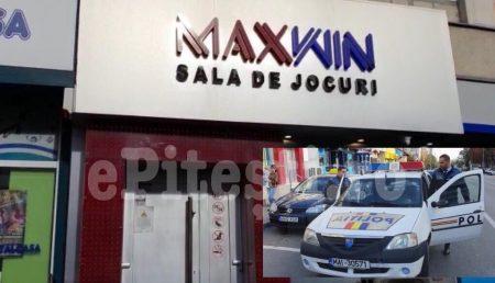(VIDEO) TÂLHĂRIE LA MAXWIN, ÎN TRIVALE. CASIERĂ LOVITĂ