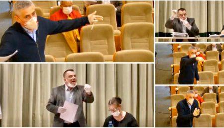 (VIDEO) SCANDAL ÎN CL PITEȘTI: TUDOSOIU VERSUS IONICĂ