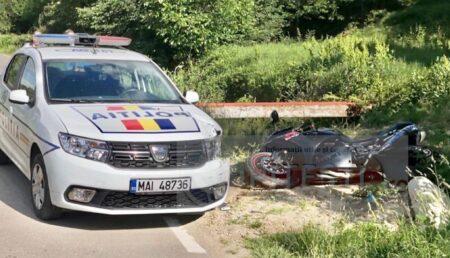 VIDEO – MOTOCICLIST DIN PITEȘTI, REȚINUT DE POLIȚIE