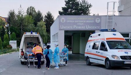 Piteşti: A început criza paturilor ATI pentru pacienţii COVID grav afectaţi