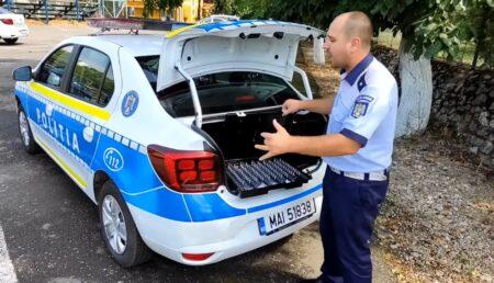 VIDEO: ARSENALUL DIN PORTBAGAJUL NOILOR MAŞINI DE POLIŢIE