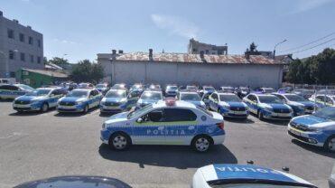 (VIDEO/UPDATE) ÎNCĂ 40 DE MAŞINI NOI LA POLIŢIA ARGEŞ