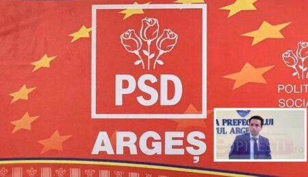 PSD ARGEȘ ANUNȚĂ CĂ A FĂCUT PLÂNGERE PENALĂ ÎMPOTRIVA PREFECTULUI