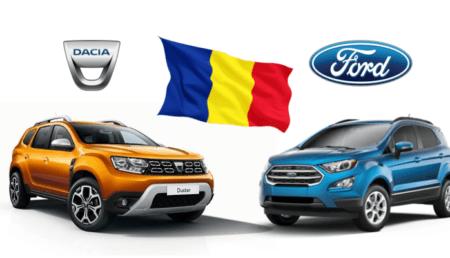 Dacia Duster, modelul din producția internă cu cele mai multe unități fabricate în 2020. Cine urmează în clasament