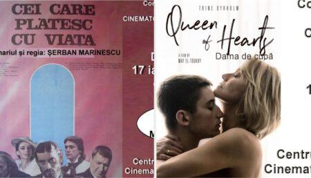 """""""Dama de cupă"""" și """"Cei care plătesc cu viața'"""" – filmele acestui week-end la Cinematograful """"București"""""""