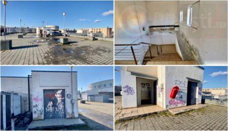 """Imagini mizerabile! Peste 1 300 000 € """"îngropați"""" într-o parcare fantomă"""