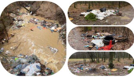 Video: Tone de gunoaie aruncate în Găvana