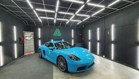 Video – Super Sport Porsche 718 Cayman S, la cosmetizare AUTO!