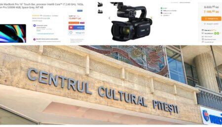 Centrul Cultural Pitești: buget de 500 de mii €, salarii de 230 de mii € și achiziții la suprapreț