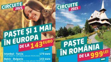 Donaris Tours: Oferte de nerefuzat de Paște și 1 Mai